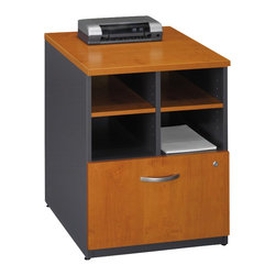 "BBF - Bush Series C 24""W Storage Unit in Natural Cherry Finish - Bush - Storage Cabinets - WC72404 - From private offices to workstations Series C configures in dozens of ways giving you the flexibility to design your workspace in the way that best suits your working style."
