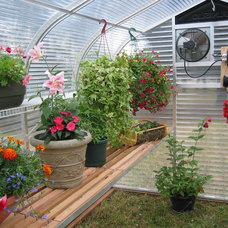 Traditional Greenhouses by Sunglo Greenhouses