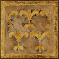 Paragon Decor - Andante I Artwork - Exclusive Hand Painted with Metallic Leaf on Canvas