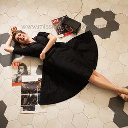 "Mate 8"" Porcelain Hexagons - Michael Howard"