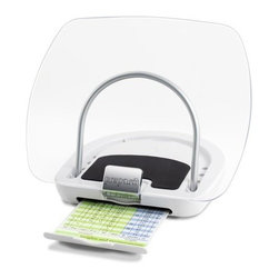 Prepara - Prepara Chef's Center Cookbook/iPad Holder, White - Our Chef's Center Cookbook & iPad Holder from Prepara fits all cookbook and magazine sizes as well as tablet PC's and e-readers. Keep your favorite recipes upright, protected and in place with the clear splatter guard and lazy susan swivel base.
