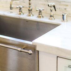 Traditional Kitchen Faucets by Evars + Anderson Interior Design