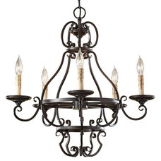 Traditional Chandeliers by Candelabra