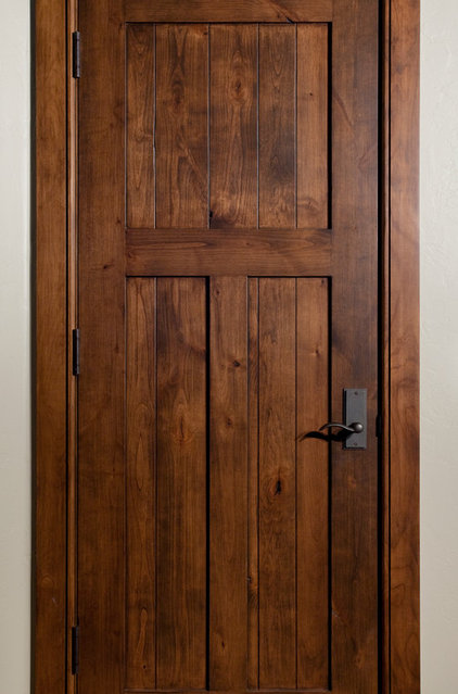 Traditional Interior Doors by Magleby Construction