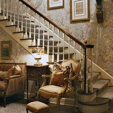 Traditional Staircase by Ruth Richards, Allied ASID