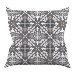 "Kess InHouse - Miranda Mol ""Let it Snow"" Throw Pillow (26"" x 26"") - Rest among the art you love. Transform your hang out room into a hip gallery, that's also comfortable. With this pillow you can create an environment that reflects your unique style. It's amazing what a throw pillow can do to complete a room. (Kess InHouse is not responsible for pillow fighting that may occur as the result of creative stimulation)."