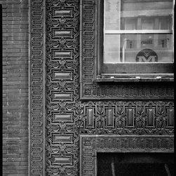 Cable Building, Exterior Decorative Detail, Chicago Print - Republic Building, 209 South State Street, Chicago, Cook County, IL, Exterior Decorative Detail