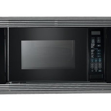 contemporary microwave by Sub-Zero and Wolf