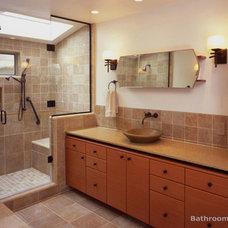 Modern Bathroom Storage Bath remodel chula vista