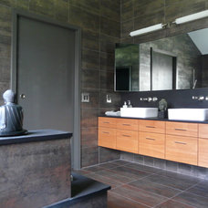 asian bathroom by Scott Haig, CKD