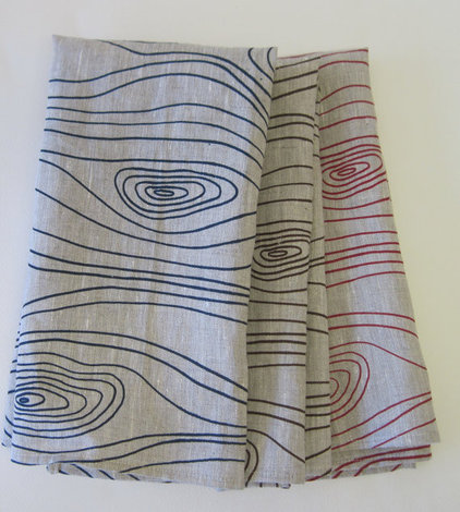 contemporary napkins by Etsy