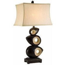 Contemporary Table Lamps by Home Depot