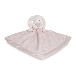 Barefoot Dreams - Barefoot Dreams CozyChic Barefoot Buddy in Bunny/Pink - Now your little one can take their favorite CozyChic blankie and their best buddie with them wherever they go! Our plush buddie is now hugging our cozy satin-trimmed blankie and makes for the perfect companion for your little bundle of joy.