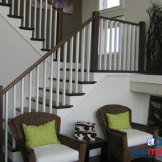 Traditional Hardwood Flooring by CP Stairmasters Inc.