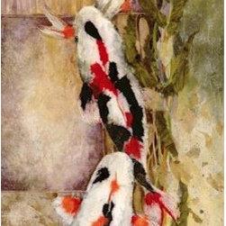 """Magic Below"" by Beki Killorin - ""Magic Below"" by Beki Killorin. Type: Giclee on Paper, Medium: Giclee Print, Style: Whimsical, Animals, Size: 22″H x 8″W."