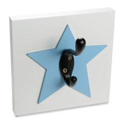 Star Decorative Wood Wall Hook by Homeworks Etc. - You'll need a place to hang up your cape, so choose something with a little star power.
