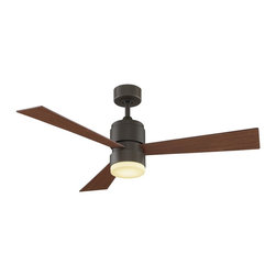 "Fanimation - Fanimation FP4650OB Zonix Oil Rubbed Bronze 54"" Ceiling Fan + Remote Control - Features:"