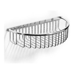 Samuel Heath - Samuel Heath - Large Semi Circular Shower Basket - N153-XL-AG - Antique Gold Finish