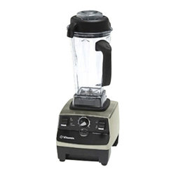 VITA-MIX - Vita-Mix CIA Professional Series Brushed Stainless Finish Blender - Vita-Mix CIA Professional Series Brushed Stainless Finish Blender is equipped with a powerful two horsepower motor that allows them to easily process almost anything from blending, pureeing, chopping, juicing and grinding grains. It features spill-proof vented lid with removable plug and patented tamper for processing thicker mixtures.