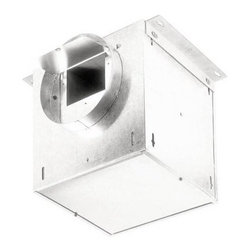 Broan-Nutone L100L High Capacity Inline Ventilation Fan - When you need a ventilation solution, the Broan L100L High Capacity Inline Ventilation Fan is the x-factor in any ducting equation.It features six-inch duct connectors on either side so it installs in line. It has a durable 20 gauge steel housing and works well in kitchens.With a GFCI branch circuit, it is UL listed for use over bathtubs and showers. Add an electronic speed control to give you full control over the ventilation power and noise level.This vent fan gives you options, something you need whether remodeling or building new.About Broan-NuToneBroan-NuTone has been leading the industry since 1932 in producing innovative ventilation products and built-in convenience products, all backed by superior customer service. Today, they're headquartered in Hartford, Wisconsin, employing more than 3200 people in eight countries. They've become North America's largest producer of medicine cabinets, ironing centers, door chimes, and they're the industry leader for range hoods, bath and ventilation fans, and heater/fan/light combination units. They are proud that more than 80 percent of their products sold in the United States are designed and manufactured in the U.S., with U.S. and imported parts. Broan-NuTone is dedicated to providing revolutionary products to improve the indoor environment of your home, in ways that also help preserve the outdoor environment.