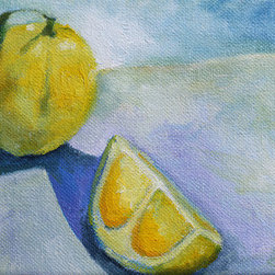'Lemons' by Claire Whitehead Original Artwork - these lemons are a study in color and light, as well as a favorite of mine to paint.