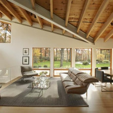 Modern Living Room by Architecture in Formation, P.C.