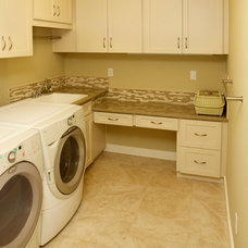 Traditional Laundry Room by Sisu Painting Inc
