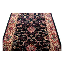 """Couristan - Everest 26"""" Runner Traditional Stair Runner - Stair & Hallway Runners Are Sold By The Linear Foot!"""