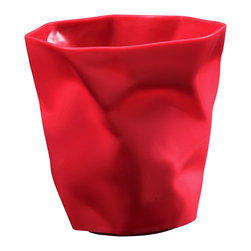 Modway Furniture - Modway Lava Pencil Holder in Red - Pencil Holder in Red belongs to Lava Collection by Modway Lava was designed for those who appreciate the irony of a pencil holder, that is effectively using itself for the same reason. While there��_��_��_��_��_��_s likely some quantum physics behind this, we prefer to think of Lava as a study in self-reference. As you stash your favorite pens and pencils, you can be reminded that your receptacle has already beat you to it. More than just a conversation piece, Lava turns the once ordinary receptacle for writing utensils, into something humorous and uplifting. Set Includes: One - Lava Modern Pencil Holder Pencil Holder (1)