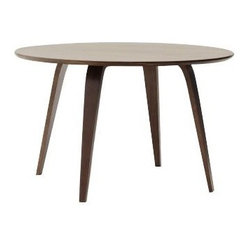 Cherner Round Table - 48in, Walnut