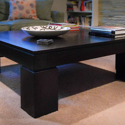 SQUARE COFFEE TABLE - Photos by Joel Cohen