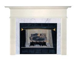 Agee Woodworks - Agee Woodworks Sonata Wood Fireplace Mantel Surround - SANTORE4840BIRCH - Shop for Mantels and Trim from Hayneedle.com! About this Fireplace MantelThe Agee Woodworks Sonata Wood Fireplace Mantel Surround is characterized by reserved top molding and truncated fluted columns. Adding an exquisite mantel to your fireplace is a certain way to boost a room's friendly ambiance. Assembly is a snap since most of the mantel is complete out of the box. Because this fireplace mantel ships unfinished the finishing choices are left up to you. Paint or stain it to perfectly match the hearth walls or woodwork in your fireplace room. Choose between birch or oak solids in a wide selection of custom-cut sizes.About Agee Woodworks Inc.Ashland Va.'s Agee Woodworks Inc. focuses on three key manufacturing aspects: service quality and customization. Each handcrafted Agee fireplace mantel is made to order by one specific craftsman - and with a variety of value and custom options there's one for every budget. The highest-quality materials used - and individualized construction process during which a mantel's legs header and shelf are applied to a specified-size frame - ensure long-lasting one-of-a-kind products. Mantels can be primed painted or stained before delivery or can be shipped unfinished so customers can finish them at home.