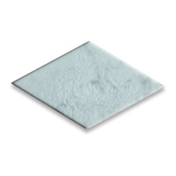 "Stone Center Corp - Carrara Marble Rhomboid Diamond Tile 4x8 Tumbled - Premium Carrara white marble diamond tile 4"" x 8"" (from point to point length)"