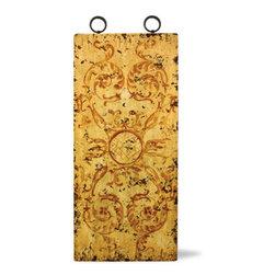 Koenig Collection - Old World Mediterranean Wall Art Panels, Mocha Distressed - Old World Mediterranean Wall Art Panels