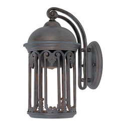 "Designers Fountain - Designers Fountain 31011-OB 1 Light 7"" Wall Lantern from the Dark Sky Barrington - Features:"
