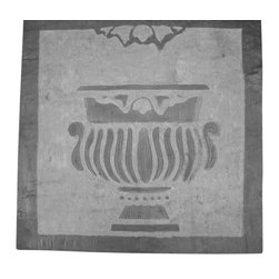 karmic stone - Custom hand carved artisan tile - Custom hand-carved stone artisan tile  by karmic stone- used to create  a wonderful focal point in architectural and landscape installations!