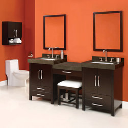 Modular Bathroom Vanities - Modular Bathroom Vanities cabinets are available in many different materials and styles which can set the overall tone for your bathroom area. It is conceivable to create a look at simple elegance, by making sure that your Modular Bathroom vanity and other essential hardware accompaniment each other, both in terms of tint and style. They have a tendency to come in three main types, including stock or off-the-shelf, semi-custom or modular and convention. The off-the-shelf products are often corpus produced, are very cost actual and come in a flat pack. These make them particularly attractive to those folks who have little or no Modular Bathroom Vanities skills as they can be easily assembled at home with very few tools.