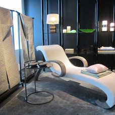 modern day beds and chaises by ARMANI / CASA