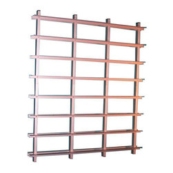 Aluminum DVD Rack from DWR - $700 Est. Retail - $175 on Chairish.com -
