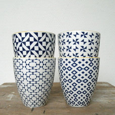 Contemporary Mugs by Accessorize Your Home