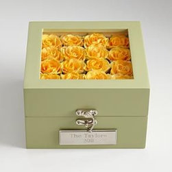 Rose Friendship Box - A rose-topped friendship box makes a great spring birthday gift for a dear friend.