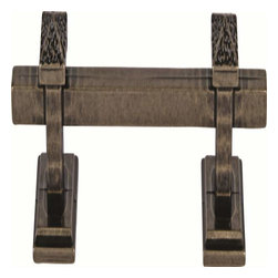 Atlas Homewares - Atlas Homewares 259-Bb Craftsman 6-Inch Door Pull, Burnished Bronze - Atlas Homewares 259-Bb Craftsman 6-Inch Door Pull, Burnished Bronze