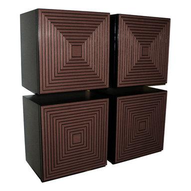 Irvin Studio and Design - The Maze Storage Box, Brown - $395.00 per box.