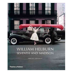 Thames & Hudson - William Helburn: Seventh and Madison - William Helburn was the go-to photographer for many of the top advertising agencies in New York in the 1950s and 1960s. Shock value and an unrelenting hunger for success helped Helburn to a pioneer s share in the revolutionary era of advertising and his work would also appear on the editorial pages and covers of major magazines. As well as cars and cosmetics, Helburn shot Coca-Cola, Canada Dry, whiskeys, clothing lines, airlines, jewelry, cigars and cigarettes, and any number of other products. He worked with the top models of the day, from Dovima and Dorian Leigh to Jean Patchett and Barbara Mullen to Jean Shrimpton and Lauren Hutton. William Helburn: Seventh and Madison is the first book to survey the photographic work of William Helburn and gives viewers a delicious taste of the vivid reality that the television series Mad Men seeks to evoke. Most of these images have not been seen since they were first published decades ago. In addition to the photographs, Robert Lilly contributes a biographical account of Helburn s life and work, and former colleagues Jerry Schatzberg, George Lois, Sunny Griffin, and Ali McGraw offer insights into the lusty, creative spirit of William Helburn.' Lusciously illustrated and produced, here is the work of one of the major image-makers of the postwar era in fashion and advertising