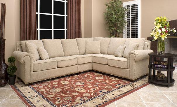 Contemporary Sectional Sofas by Overstock.com