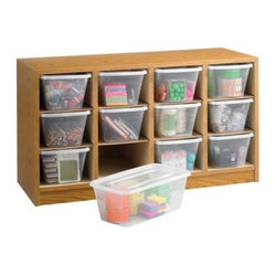 Safco 9452MO Supplies Organizer - Medium Oak