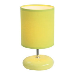 "All the Rages - All the Rages LT2005 Simple Designs 10.24"" Height 1 Light Table Lamp with Drum S - Specifications:"