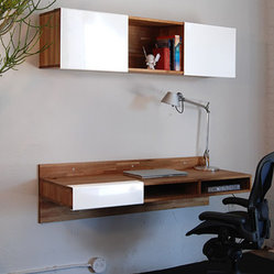 Lax Series Wall Mounted Desk by Mash Studios