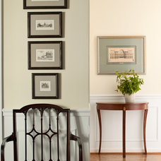 Traditional Hall by Lauren Liess Interiors