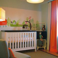 Contemporary Nursery by Jean Stephane Beauchamp Design
